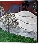 Winter Thaw Canvas Print by Matthew  James
