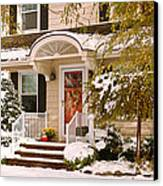 Winter - Westfield Nj - It's Too Early For Winter Canvas Print
