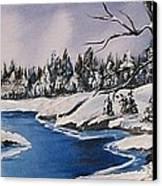 Winter's Blanket Canvas Print