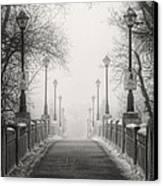 Winters Bridge Canvas Print by Stuart Deacon