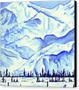 Winter's White Blanket Canvas Print