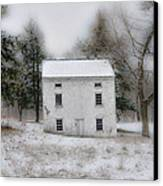 Wintertime In Valley Forge Canvas Print by Bill Cannon