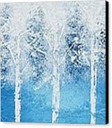 Wintry Mix Canvas Print by Linda Bailey