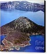 Wizard Island Canvas Print by Steven Valkenberg