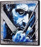 Wolverine Canvas Print by Chris Mackie