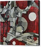 Woman Man Woman Canvas Print by Mark Jordan