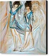 Wondering Canvas Print