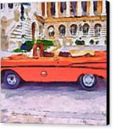 Wonna Ride This Car Canvas Print by Yury Malkov