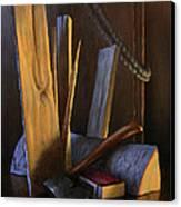 Wood Box Canvas Print by Timothy Jones
