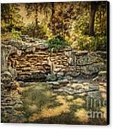 Woodard Park Koi Pond Canvas Print by Tamyra Ayles