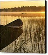 Wooden Boat Canvas Print by Veikko Suikkanen