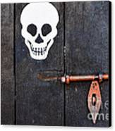 Wooden Door Canvas Print by William Voon