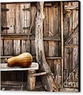 Wooden Shack Canvas Print by Carlos Caetano