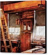 Woodworker - Old Workshop Canvas Print