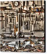 Woodworking Tools Canvas Print