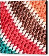 Wool Knitwear Canvas Print by Tom Gowanlock