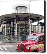 Woolwich Arsenal Train Station  Canvas Print by Ellen Howell