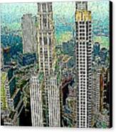 Woolworth Building New York City 20130427 Canvas Print by Wingsdomain Art and Photography