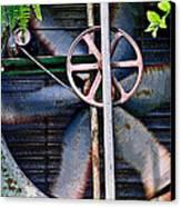 Working Old Fan Canvas Print by Kristi Swift