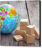 World Import And Export Canvas Print
