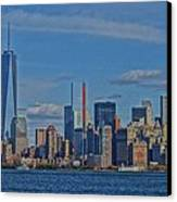 World Trade Center Painting Canvas Print by Dan Sproul