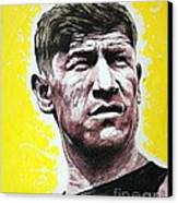 Worlds Greatest Athlete Canvas Print by Chris Mackie