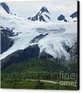 Worthington Glacier Canvas Print by Jennifer Kimberly
