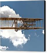 Wright Brothers First Flight Canvas Print by Randy Steele