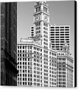 Wrigley Building - A Chicago Original Canvas Print by Christine Till
