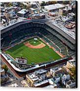 Wrigley Field Chicago Sports 02 Canvas Print by Thomas Woolworth