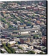 Wrigley Field - Home Of The Chicago Cubs Canvas Print