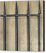 Wrought Iron Gate Canvas Print by Brenda Bryant