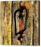 Wrought Iron Handle Canvas Print