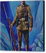 Ww 1 Soldier Canvas Print