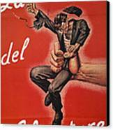 Wwii: Italian Poster, 1944 Canvas Print by Granger
