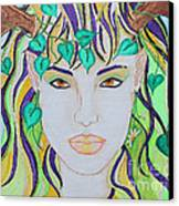 Wyld Spring Spirit Canvas Print by Luanna Swaney