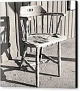 Wylie's Chair Canvas Print