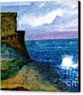 Xlendi Tower - Gozo Canvas Print