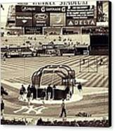 Yankee Stadium Canvas Print by CD Kirven