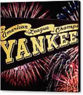 Yankees Pennant 1950 Canvas Print
