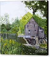 Yates Mill Summer Canvas Print
