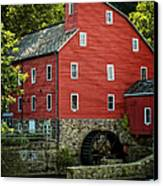 Ye Old Red Mill Canvas Print by Wayne Gill