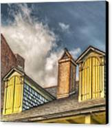 Yellow Dormers Canvas Print by Brenda Bryant