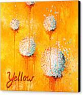 Yellow Canvas Print by Michelle Boudreaux