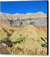 Yellow Mounds Badlands National Park Canvas Print by Jemmy Archer