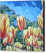 Yellow Tulips Canvas Print by Andrei Attila Mezei