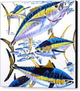 Yellowfin Run Canvas Print