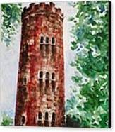 Yokahu Tower  Canvas Print by Zaira Dzhaubaeva