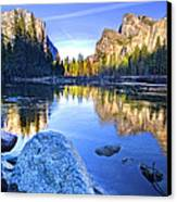 Yosemite Reflections Canvas Print