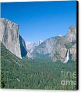 Yosemite Valley Canvas Print by David Davis